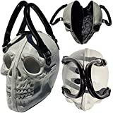 Womens Kreepsville Skull Collection Handbag Natural Glow