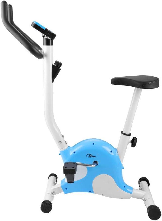 Bicicleta estática La View silenciosa para ejercicio en casa: Amazon.es: Deportes y aire libre