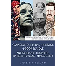 Canadian Cultural Heritage 4-Book Bundle: Molly Brant / Louis Riel / Harriet Tubman / Simon Girty (Quest Biography)