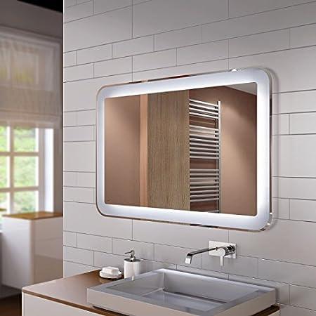 Spiegel Mit Led Innenbeleuchtung Design Linie De Ohne Rahmen Auch