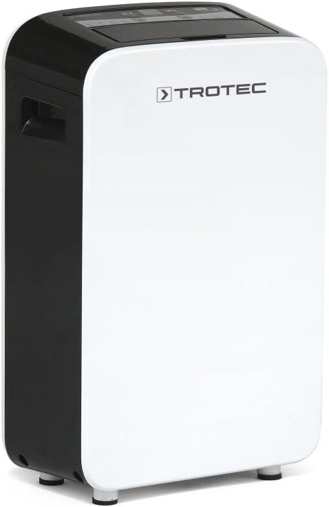 TROTEC TTK 24 E Komfort Luftentfeuchter geeignet f/ür R/äume bis 37m/³ // 15m/² max. 10 l//Tag