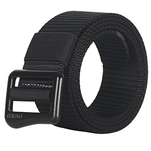 FAIRWIN Tactical Web Belt for Men, Nylon Military Style Casual Canvas Webbing Buckle Belt in Gift Box (Nylon Belts For Men compare prices)