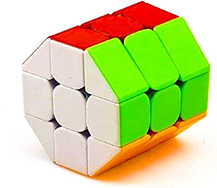 Toy Arena Rubiks Rubix Barrel High Speed Stickerless Magic Rubic Cube 3x3x3