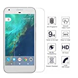 [3 Pack]Google Pixel Screen Protector Full Coverage 9H Hardness Shatter-Proof Easy-to-Install Tempered Ballistic Glass Film for Google Pixel with Lifetime Warranty
