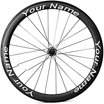 catazer Calcomanías para Llantas de Bicicleta, Personalizables ...