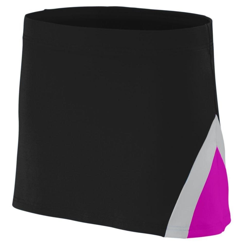 Augusta Athletic Girls Enmotion Skirt, Black, XX Small