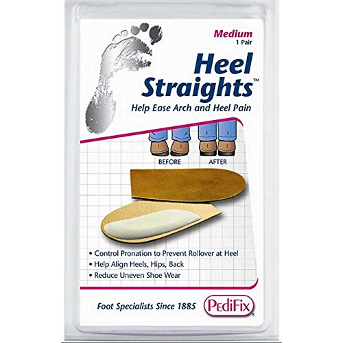 - Pedifix Heel Straights -Large - One package of One pair
