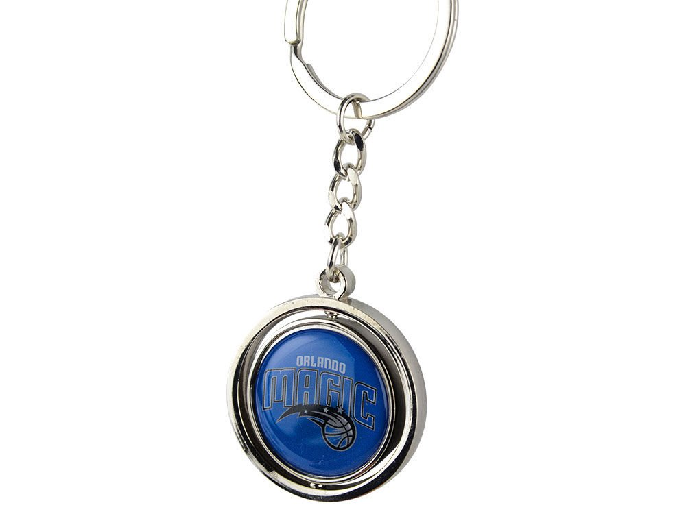 NCAA Orlando Magic NBA-SK-741-05 Spinning Keychain, One Size, Multicolor by aminco