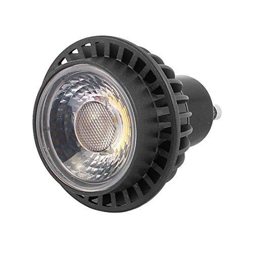 eDealMax AC85-265V 3W GU10 COB Reflector LED bombilla de la lmpara empotrada Cilindro blanco puro