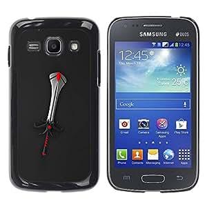 Carcasa Funda Prima Delgada SLIM Casa Case Bandera Cover Shell para Samsung Galaxy Ace 3 GT-S7270 GT-S7275 GT-S7272 / Business Style Fantasy Sword