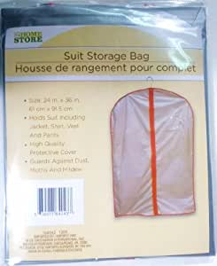 "Suit Storage Bag with Zipper - 24"" x 36"""