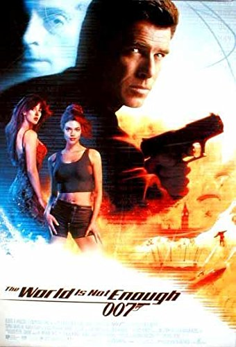 (THE WORLD IS NOT ENOUGH MOVIE POSTER James Bond-007 Rolled 1SHT!)