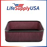 4 Pack Replacement Composite Airbox flat top Sprint Car Style air box by LifeSupplyUSA