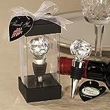 Vineyard CollectionTM Crystal Ball Design Wine Stopper Favors, 1