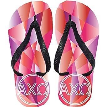 Alpha Chi Omega Flip Flops (Large)