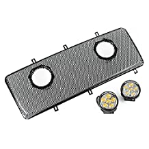 "Rugged Ridge 12034.13 3.5"" LED Light Grille Mesh & Bracket"