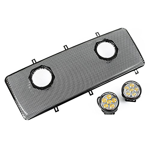Rugged Ridge LED Light Grille Wire Mesh Grilles