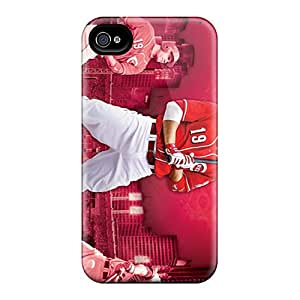 High Quality Phone Cases For Iphone 6 With Customized Lifelike Cincinnati Reds Series JonathanMaedel
