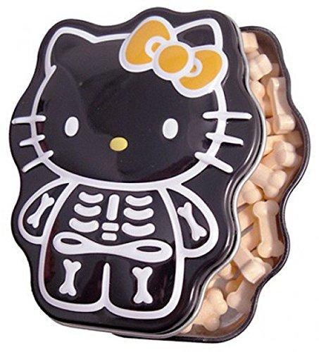 Hello Kitty Candy Tin Sour Orange Skelly -