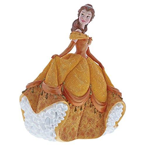 Enesco 4060071 Disney Showcase Couture De Force Belle Stone Resin Figurine, Multi