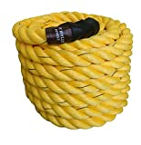 ESSKAY UTTAM Gym Exercise Rope (1.5 ' Thick / 30 Feet Exercise Rope) Battle Rope;Battle Rope