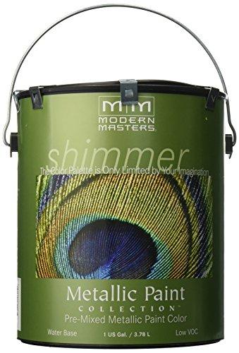 Modern Masters ME196-GAL Metallic Paint, Pearl White