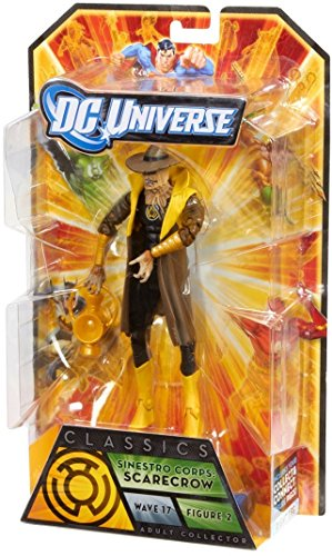 DC Universe Classics Sinestro Corps/Yellow Lantern Scarecrow Collectible Figure No BAF Part