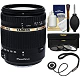 Tamron 18-270mm f/3.5-6.3 Di II PZD Macro Zoom Lens with 3 UV/CPL/ND8 Filters + Kit for Sony Alpha A-Mount DSLR Cameras