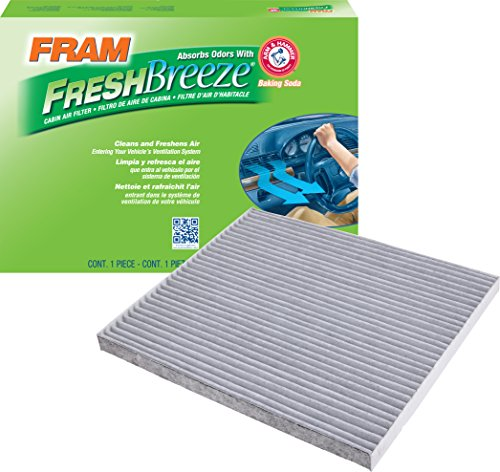 FRAM CF11776 Fresh Breeze Cabin Air Filter with Arm & Hammer