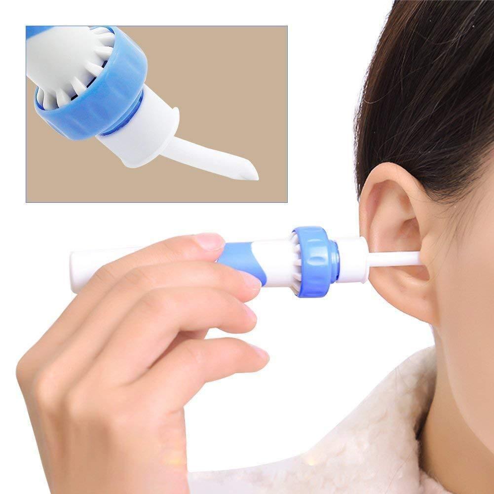 Embouts pour d/ém/êler les oreilles de votre choix loreille loreille le syst/ème de nettoyage automatique des oreillettes Earpick-Wachs-s/ûr Remover sans merciement pile incluse