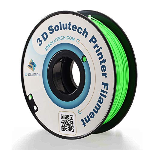 3D Solutech Apple Green 3D Printer PLA Filament 1.75MM Filament, Dimensional Accuracy +/- 0.03 mm, 2.2 LBS (1.0KG)