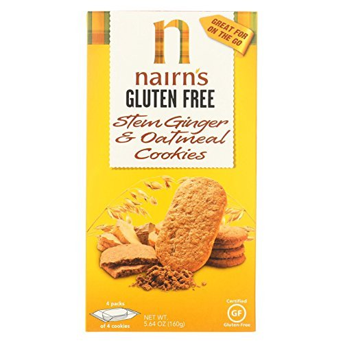 Nairns Nairn Oatmeal Ginger Cookie Gluten Free 5.64 Oz (Pack Of 12) by Nairn's