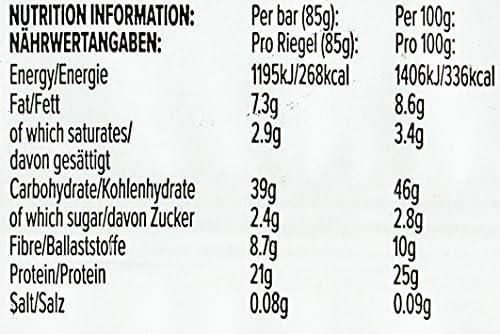 BULK POWDERS Protein Flapjack Riegel, Proteinreicher Haferriegel, Doppel-Schoko, 80g, Box mit 18 Riegeln