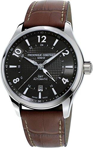 Frederique Constant Runabout Automatic Movement Grey Dial Men's Watch FC-350RMG5B6 (Geneva Watches Men)