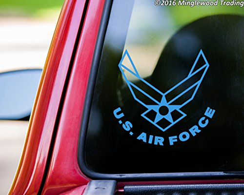 US-Air-Force-vinyl-decal-sticker-525-x-5-USAF-Wings-United-States-Military
