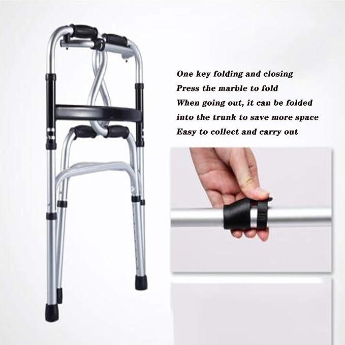 Andador plegable compacto con ruedas, Andador plegable ...