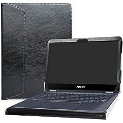"""Alapmk Protective Case Cover For 13.3"""" Asus NovaGo TP370QL TP370QL-6G128G Laptop(Warning:Not fit Asus other Models),Black"""