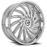 32inch rims - AZARA AZA-508 Chrome Wheels (32x10