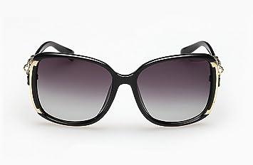 MNII Fashion Lady Polarisierte Sonnenbrille Steigung Polarisator , black- Fashion Appearance, Qualitätssicherung