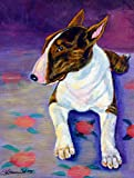 Caroline's Treasures 7287CHF Bull Terrier Flag Canvas, Large, Multicolor Review