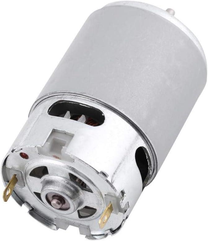 DC 12-24V RS-550 5800RPM Micro Motor de Engranajes Motor de Reducción de Velocidad Motorreductor