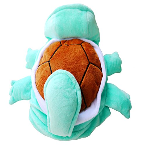 (UEETEK Pet Turtle Costume Clothes Puppy Dog Cat Cosplay Costume Outfit for Christmas Birthday Weekend Party Decor,Size XS)