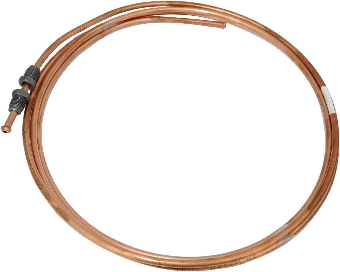 AERZETIX Conduite de Freins Tuyau Tube en cuivre /Ø4.76mm avec raccords M10x1//M10x1 140cm