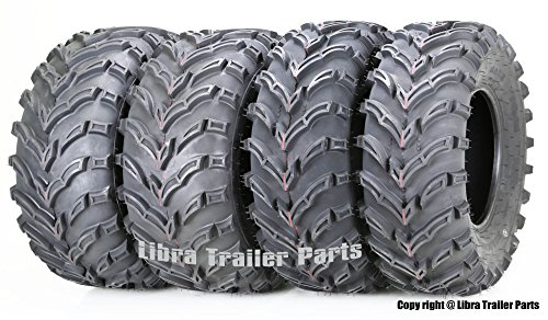 Set of 4 ATV/UTV Tires 26x9-12 Front 26x11-12 Rear 10275/276 (4 Tires Wheeler Atv)