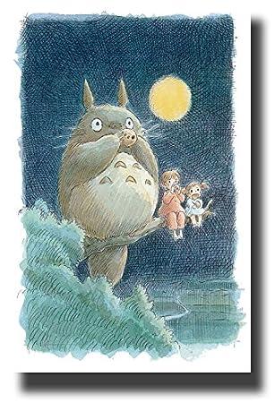 Amazon.com: (Mi vecino Totoro) Póster B 11 x 17 Noriko ...