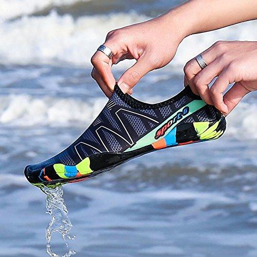 R Antideslizante Zapatos Secado de de Agua Unisex YwqfTZ