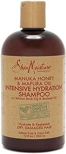 SHEA MOISTURE Manuka Honey and Marfura Oil Intensive Hydration Shampoo, 384 ml, 13 oz (U-HC-12180)