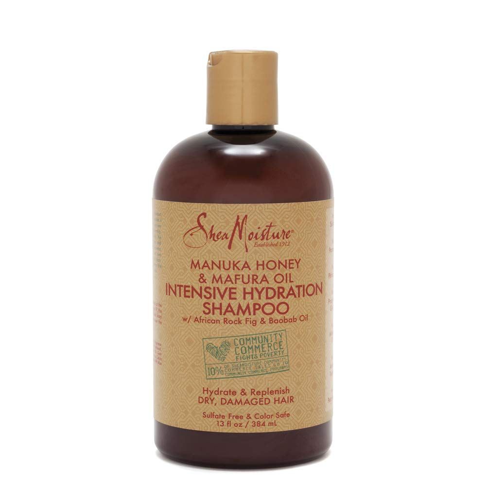 SheaMoisture Manuka Honey & Mafura Oil Intensive Hydration Shampoo | 13 oz