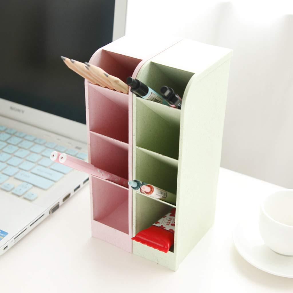 scuola scuola GN BASSK Porta-penne multifunzione con 4 griglie per scrivania ufficio