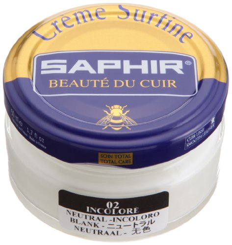 Saphir Shoe Cream 50ml. Jar Neutral